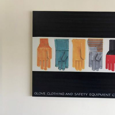 Magid Glove Wall Decor