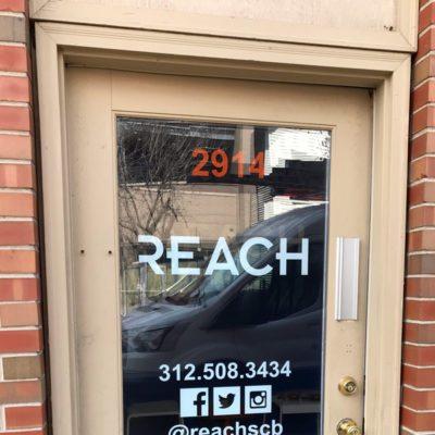 Door Decals at Reach