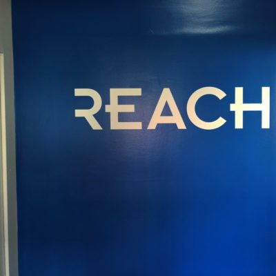 Wall Graphics Installed at Reach