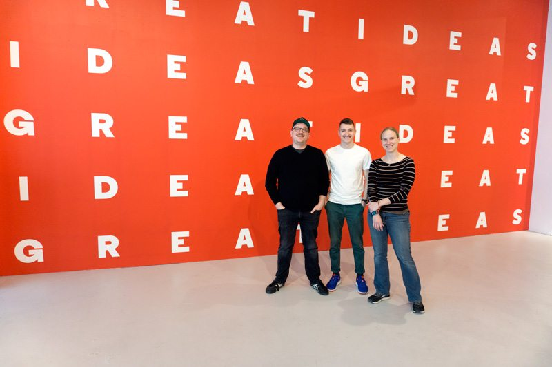 Chicago Design Museum Team In Front of Backdrop