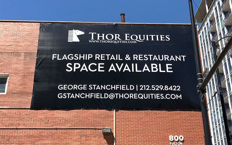 Thor Equities Building Banner