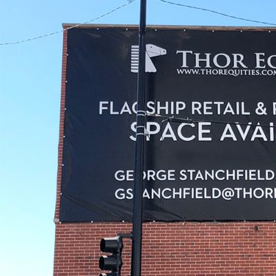 Close Up Thor Equities Exterior Banner