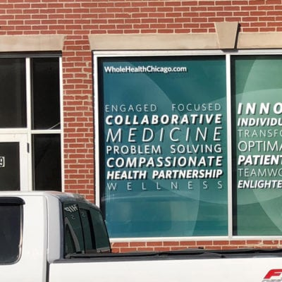 Summer Window Graphics at Whole Health