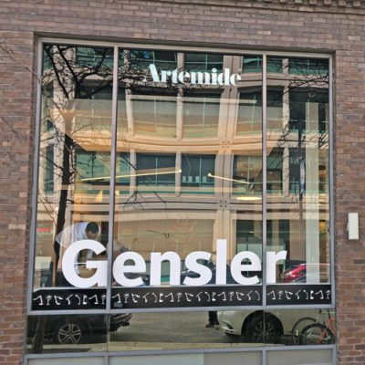 Wide Window Graphic Gensler and Artemide