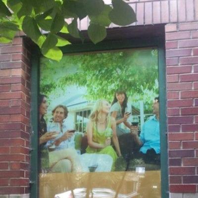 Window Graphics at 77 W Huron