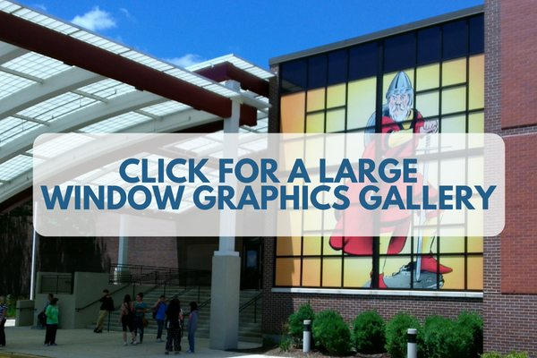 Image Leads to Large Galley of Window Graphics Projects