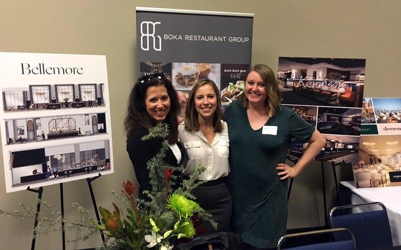 Boka Restaurant Group Team at Choose Chicago Partner Showcase