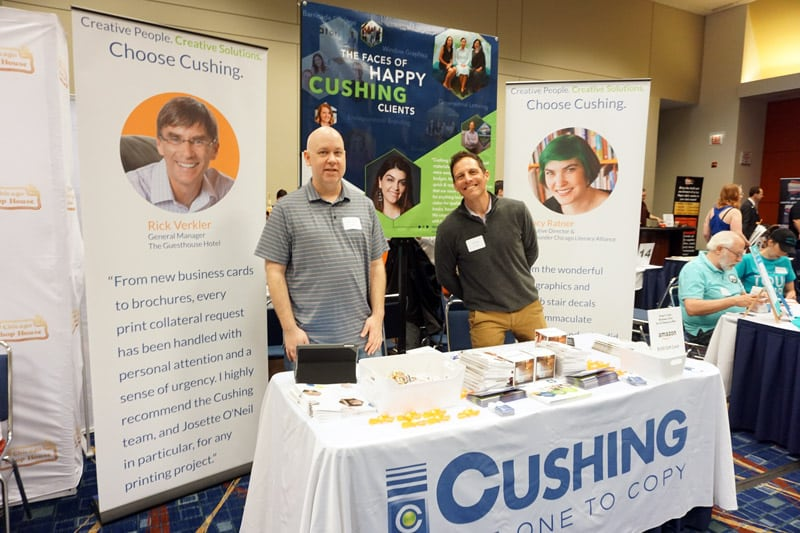 Observations and Tips for Your Next Trade Show Table 3 Erik and Jon at Choose Chicago Partner Showcase