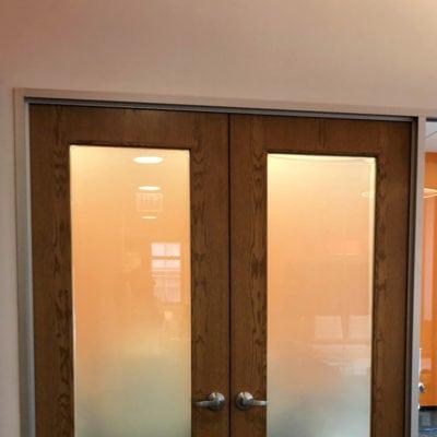 Front Door Privacy Film at Koya