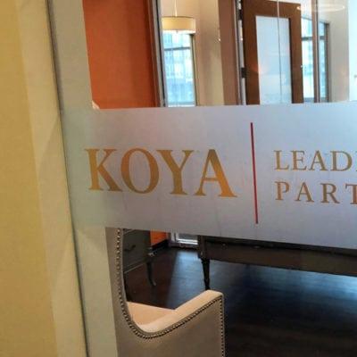 Koya Privacy Vinyl Entrance