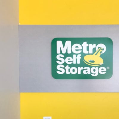 Metro Storage Wall Decal In Naperville