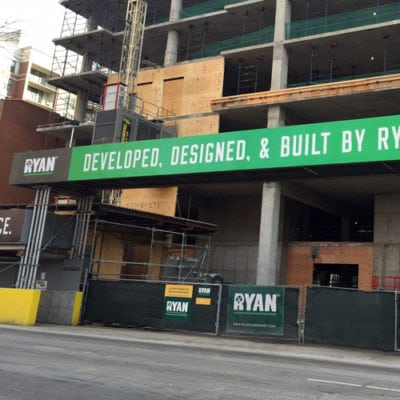 Scaffolding Project for Ryan Companies in Chicago.