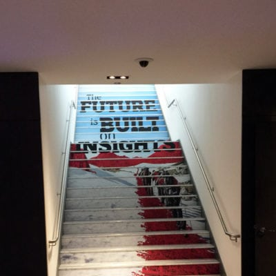 Conference Stair Graphics