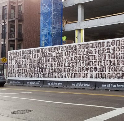 Faces of Fulton Market Construction Graphics