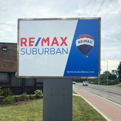 ReMAX Outdoor Signage