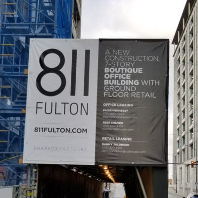 811 Fulton Construction Graphics