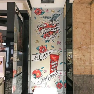 Bloomingdales In-store Seasonal Wall Graphic