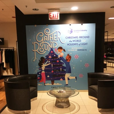 In-Store Holiday Promotional Wall Graphics