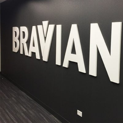 Braviant Dimensional Lettering
