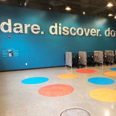 Chicago Childrens Museum Floor Graphics and Dimensional Signage