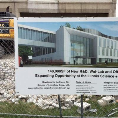 Executive Construction Fence Banner