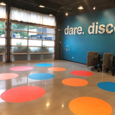 Floor Graphics and Dimensional Signage at Chicago Children's Museum