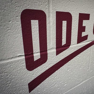 Gameplan Creative Odeum Wall Graphic