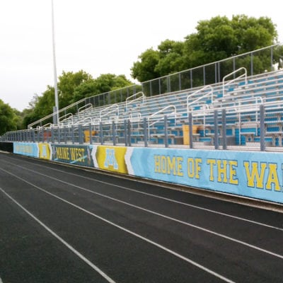 Maine West Outdoor Track Banners