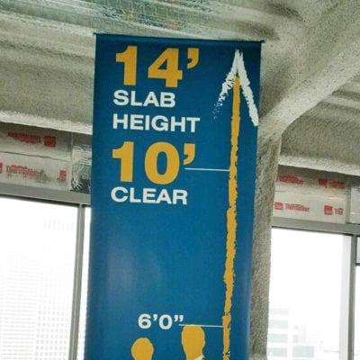 Newmark Banner In Marketing Center