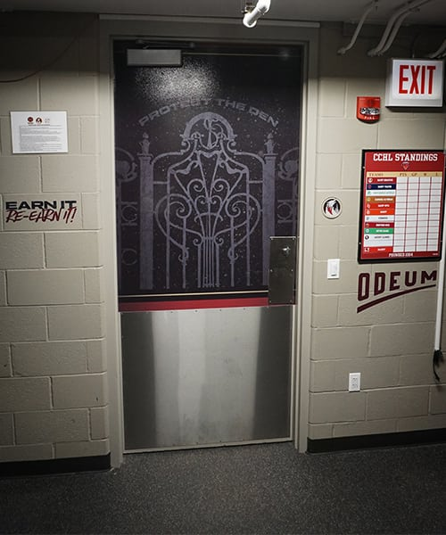 Protect the Den Door Graphic Gameplan Creative