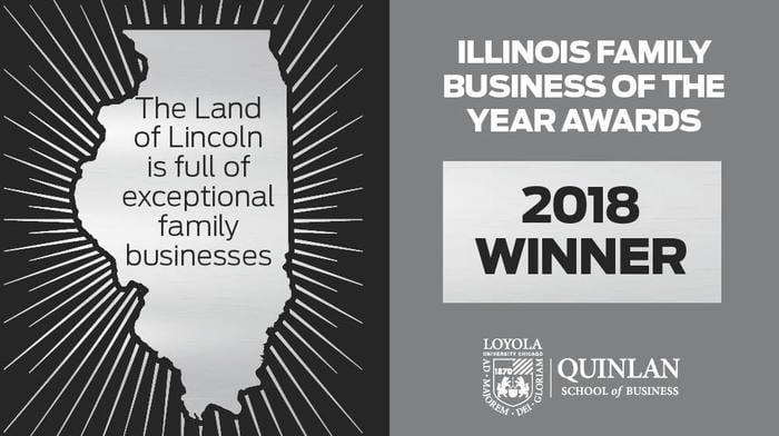 Cushing Named a 2018 Illinois Family Business of the Year