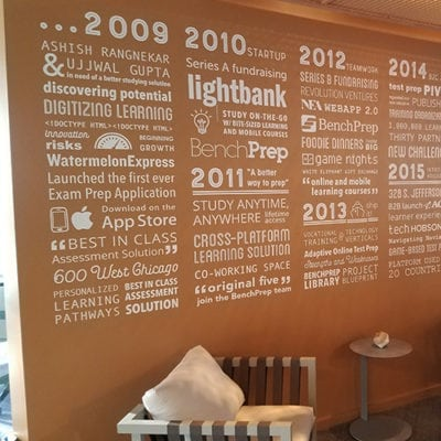 Bench Prep Wall Graphic