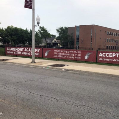 Claremont Academy Banners
