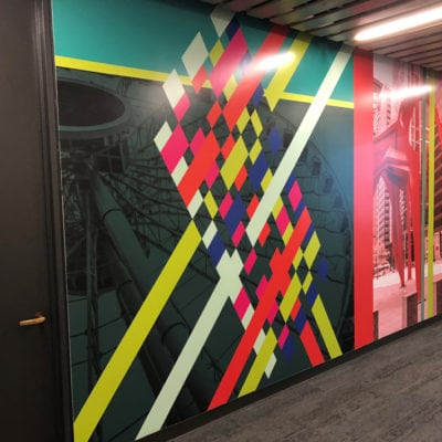 Wall Graphics in Daley Center Office