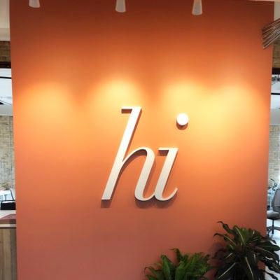 Office Wall Dimensional Letters