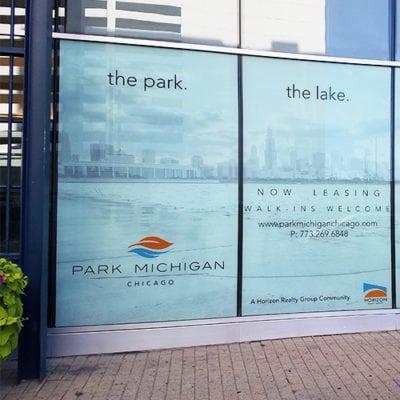 Horizon Realty Park Michigan Window Graphics