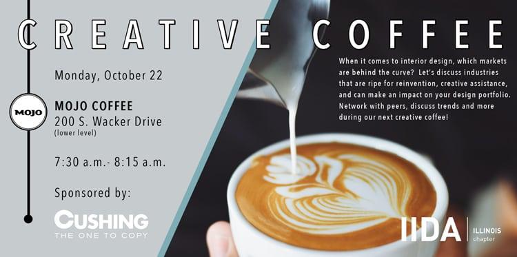 Creative Coffee October Event
