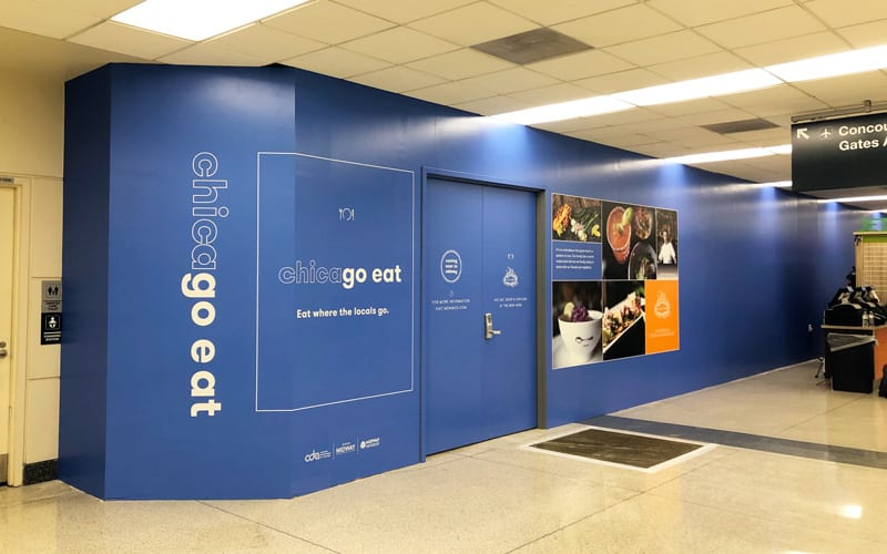 Interior Construction Graphics at Midway