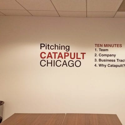 Conference Room Signage and Decals