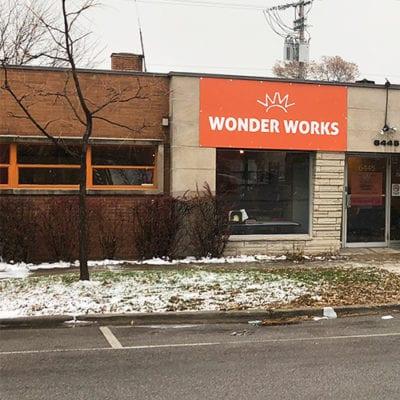 External Signage for Wonder Works