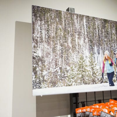 Graphics Complement Product on The Shop Floor