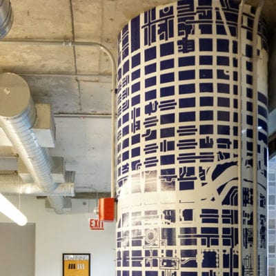 Wrapped Office Column at American Planning Association