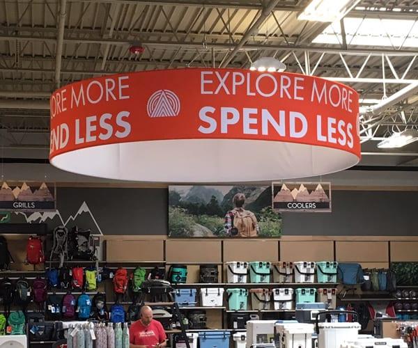 Store Retail Display at Uncle Dan's