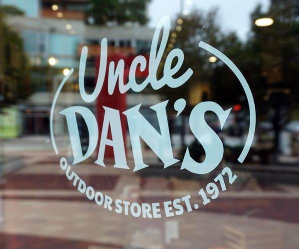 Uncle Dans Vinyl Cut Logo