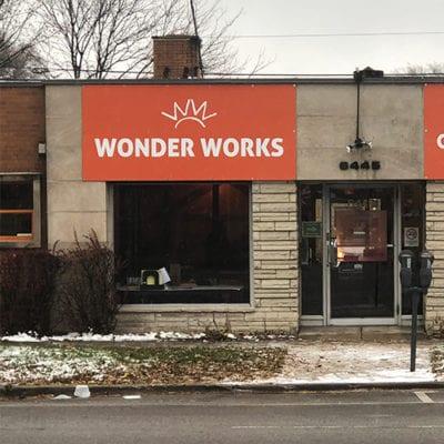 Wonder Works External Signage