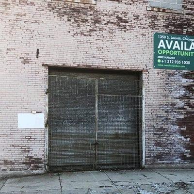 Building Exterior CBRE Signage