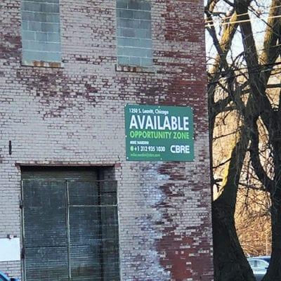 CBRE Signage Exterior