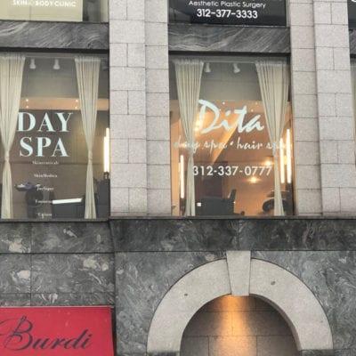 Day Spa Window Graphics