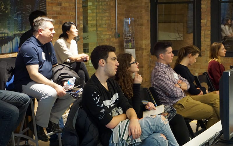 Delving Into Design Week 5 Guests In The Back Row