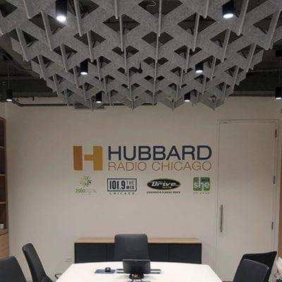 Hubbard Radio Conference Room Wall Graphics